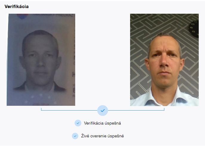 verifikácia tváre - biometria | Finax