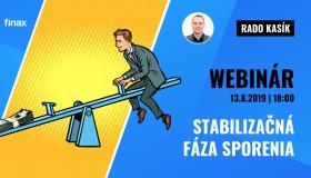 Stabilizačná fáza sporenia | Finax webinár