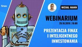 Finax webinarium | Prezentacja Finax i Inteligentnego Inwestowania